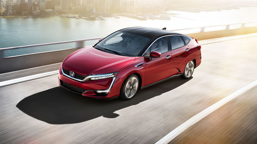 2017 Honda Clarity fuel cell lease price includes $15K of hydrogen fuel
