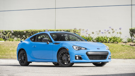 Subaru BRZ Series.HyperBlue