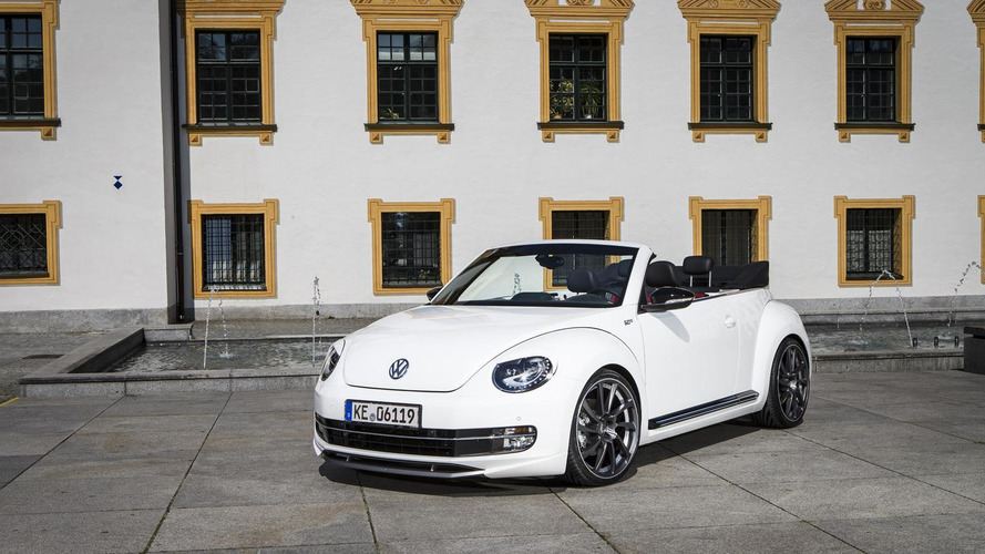 Volkswagen Beetle Cabriolet gains aero kit and power upgrades from ABT