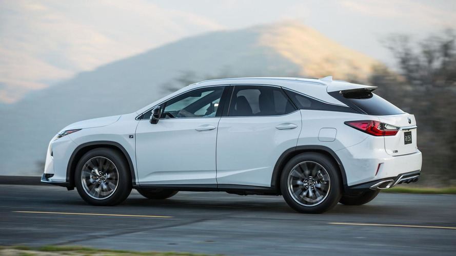 Three-row Lexus RX confirmed