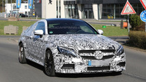 Mercedes C63 AMG Coupe spy photo