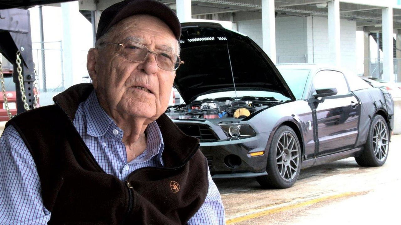 Ford Shelby GT500 Durability Car Piloted by Carroll Shelby 19.01.2012