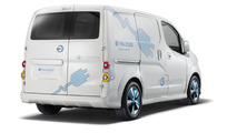 Nissan e-NV200 panel van concept unveiled