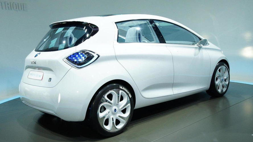 Renault ZOE Preview revealed - future Clio