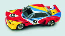 Alexander Calder (USA) 1975 BMW 3.0 CSL art car miniature - 1600