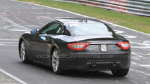 Possible Maserati GranTurismo Sport GT S spied on the Nurburgring?