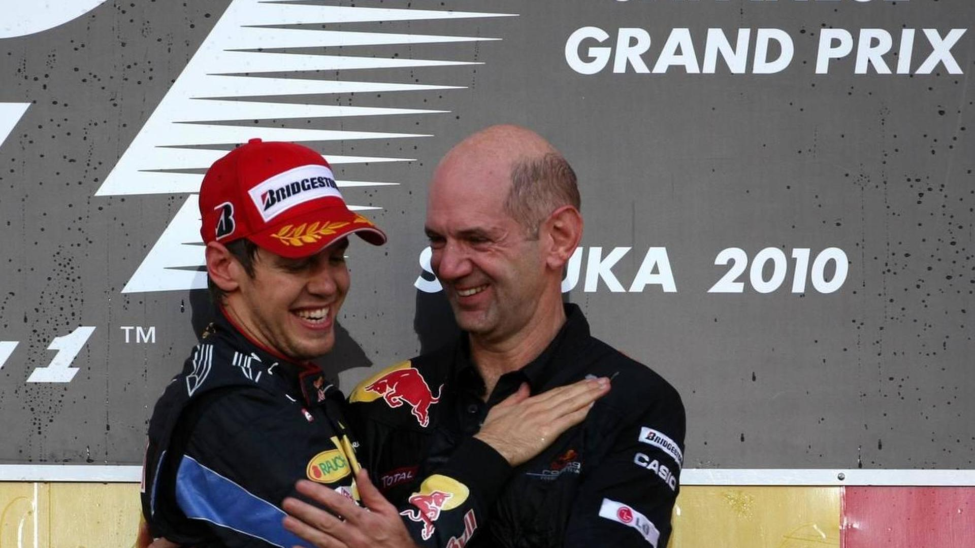 No plans to leave F1 'for a while' - Newey