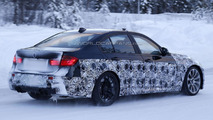 2014 BMW M3 caught playing in the snow
