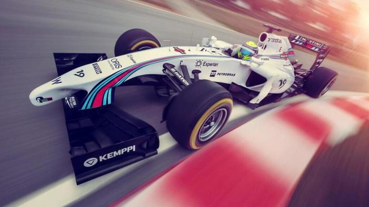 Williams Martini livery
