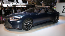 Lexus LF-FC goes official to preview the next generation LS fuel cell flagship [videos]