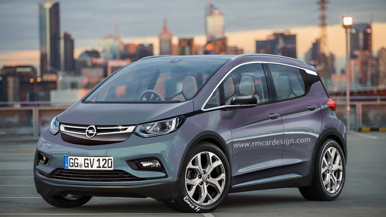 Opel Bolt render