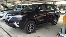 2016 Toyota Fortuner photographed completely undisguised