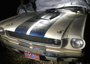 Son Uncovers His Father's 1965 Mustang Shelby GT350 After 15 Years in a Barn