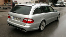 Mercedes E63 AMG Estate Spy Photos