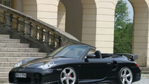 TechArt Tunes Porsche 911 Turbo Cabriolet