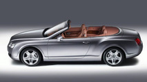 Bentley Continental GTC appears at flower show