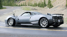 New Pagani Zonda F Spy Photos