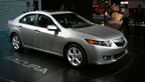 Acura TSX at New York Auto Show