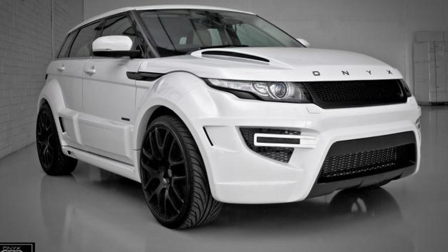 Onyx Concept shows Rogue Edition based on Range Rover Evoque