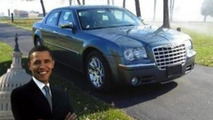Obama's Chrysler 300C on eBay for $1 million