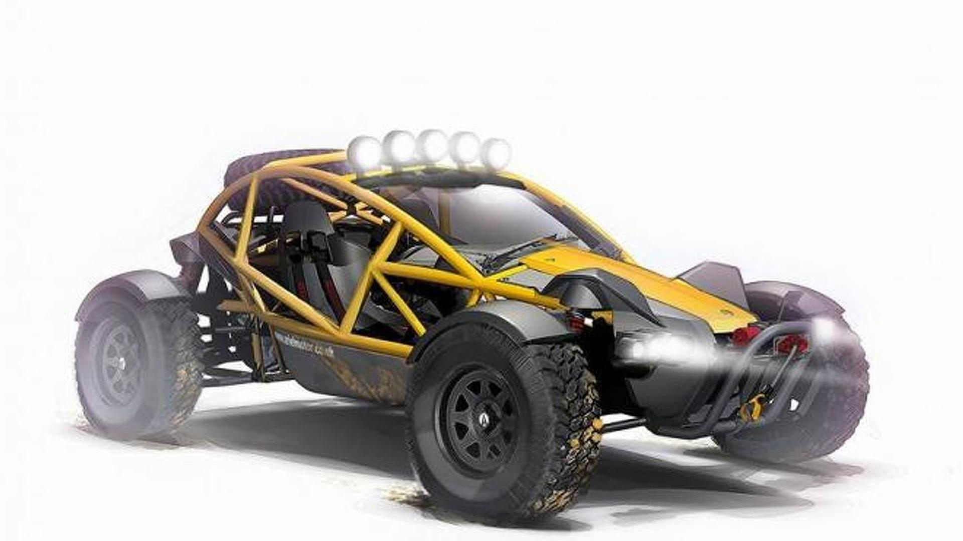 Ariel Nomad off-roader unveiled ahead of Autosport debut
