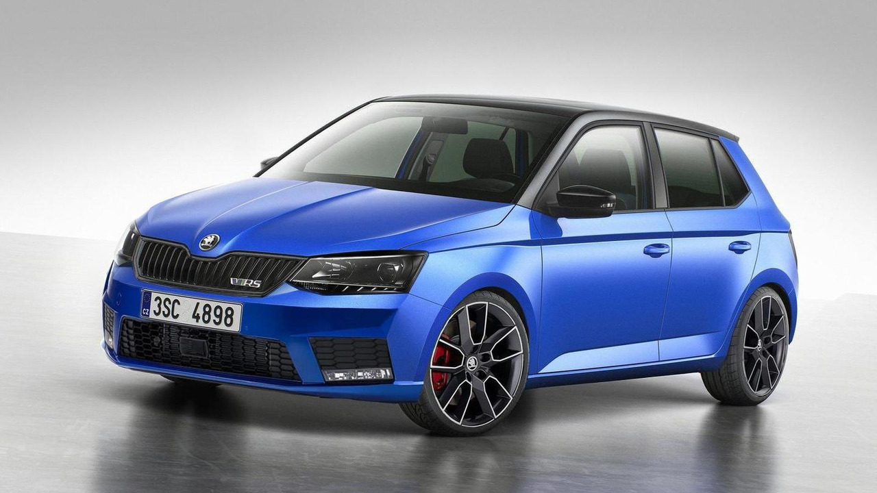 2015 skoda fabia vrs rendered but won 39 t be produced. Black Bedroom Furniture Sets. Home Design Ideas