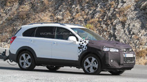 2015 / 2016 Chevrolet Captiva facelift spied for a second time