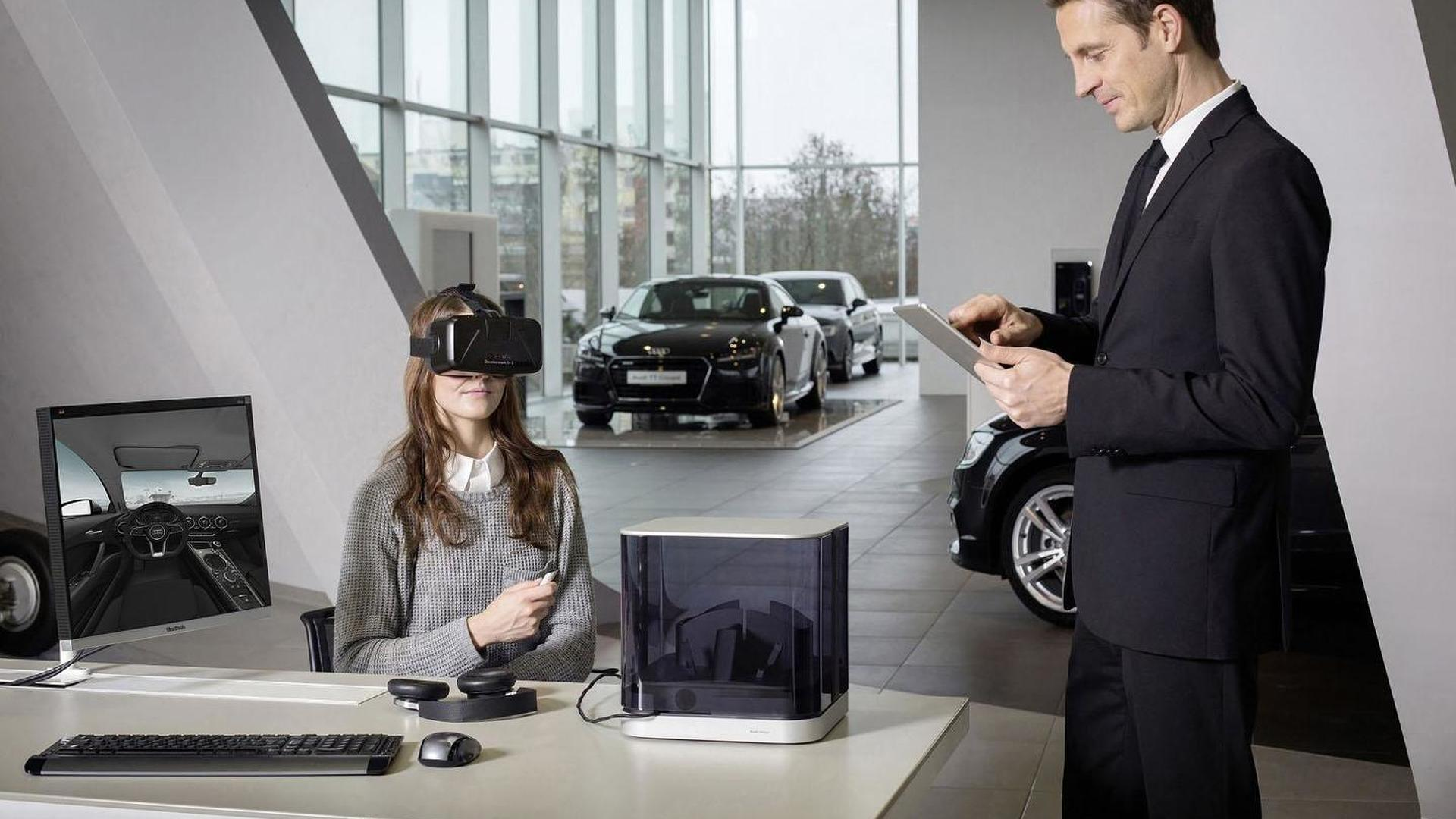 Audi dealers to use virtual reality to help customers configure their cars