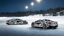 Pure McLaren Arctic Experience winter driving