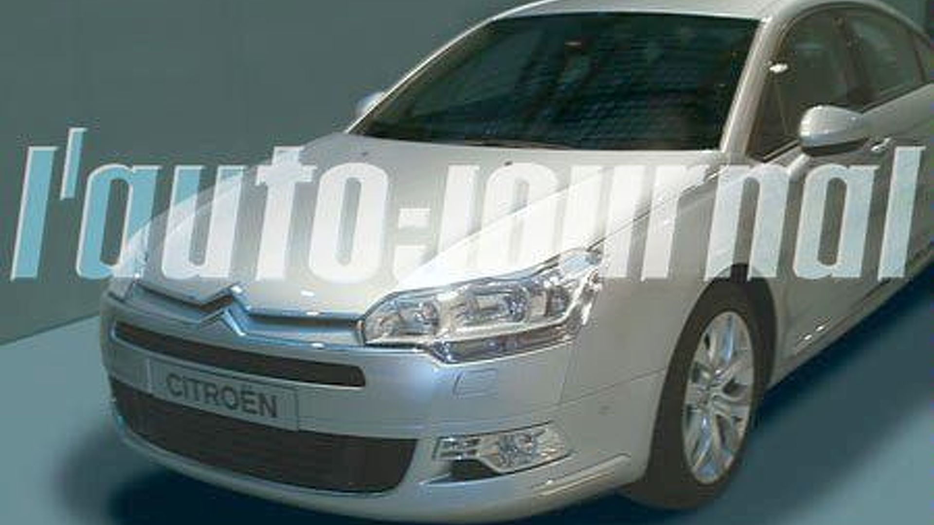 Next Gen Citroen C5 Breaks Cover