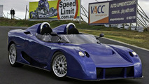 Australian Hyper Car E-Vade Takes to the Track