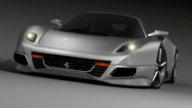 F250 Concept. South Africa's Guess For A New Ferrari Dino