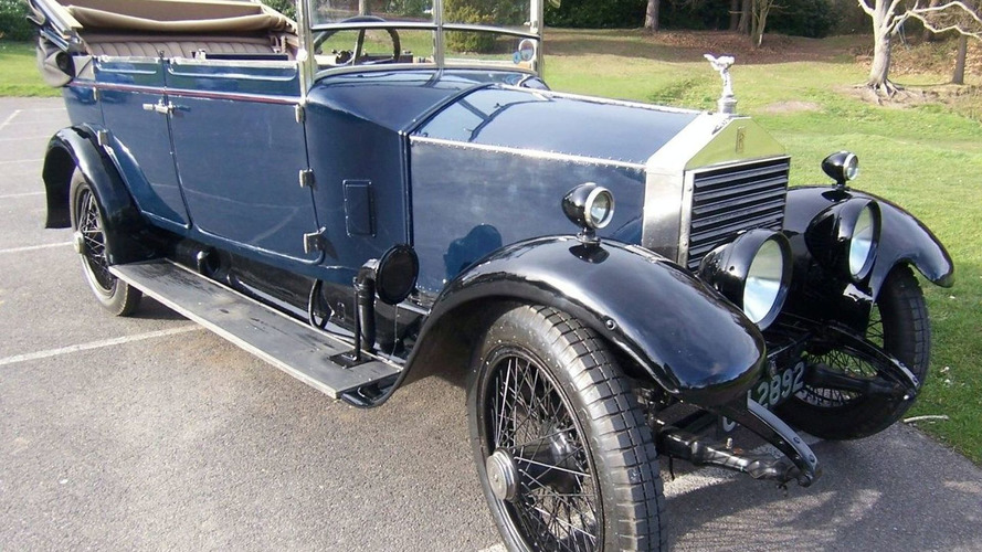 Oldest surviving baby rolls royce to be auctioned