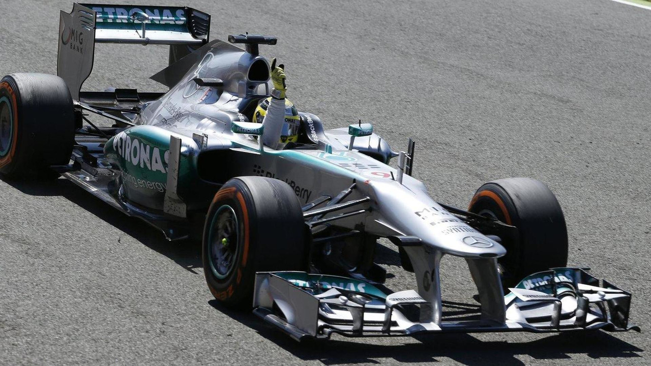 Nico Rosberg, British Grand Prix, 29.06.2013