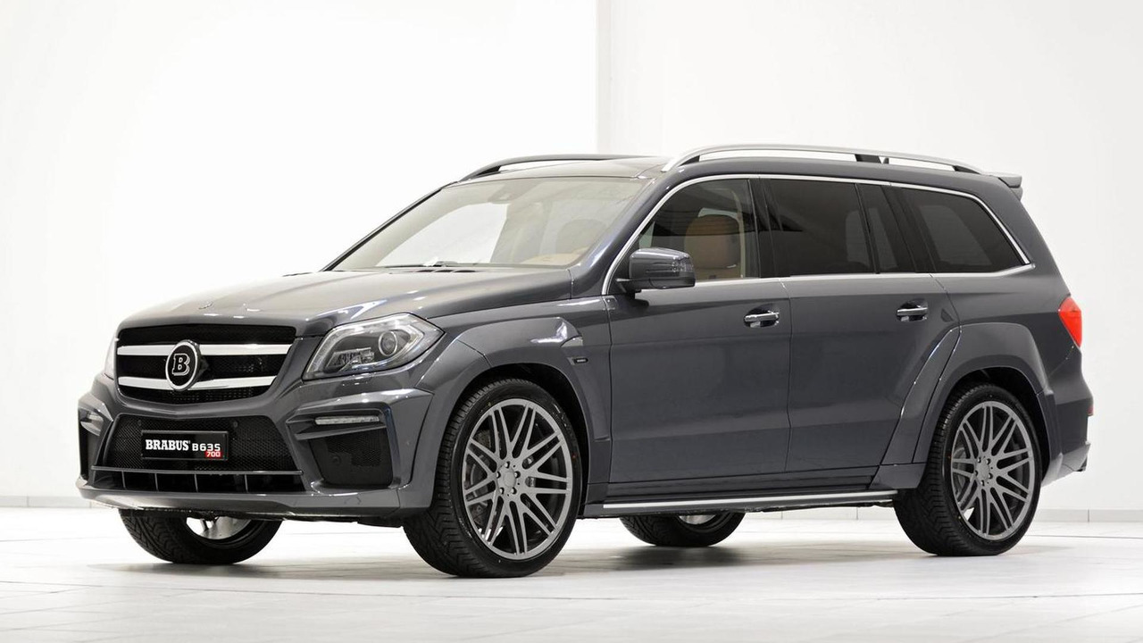 Brabus B63S based on the Mercedes-Benz GL 63 AMG 19.08.2013