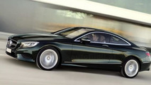 2015 Mercedes-Benz S-Class Coupe high-res official photo shows it all