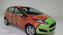 Ford wraps a 2014 Fiesta in bacon for International Bacon Day [video]