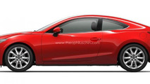 2014 Mazda3 Coupe render 18.07.2013