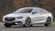 Two-door Opel Insignia Coupe imagined, anyone interested?