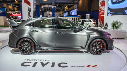 Honda Civic Type R prototype interior revealed in Montreal