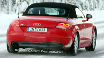 Audi TT New LED Daytime Running Lights Uncovered