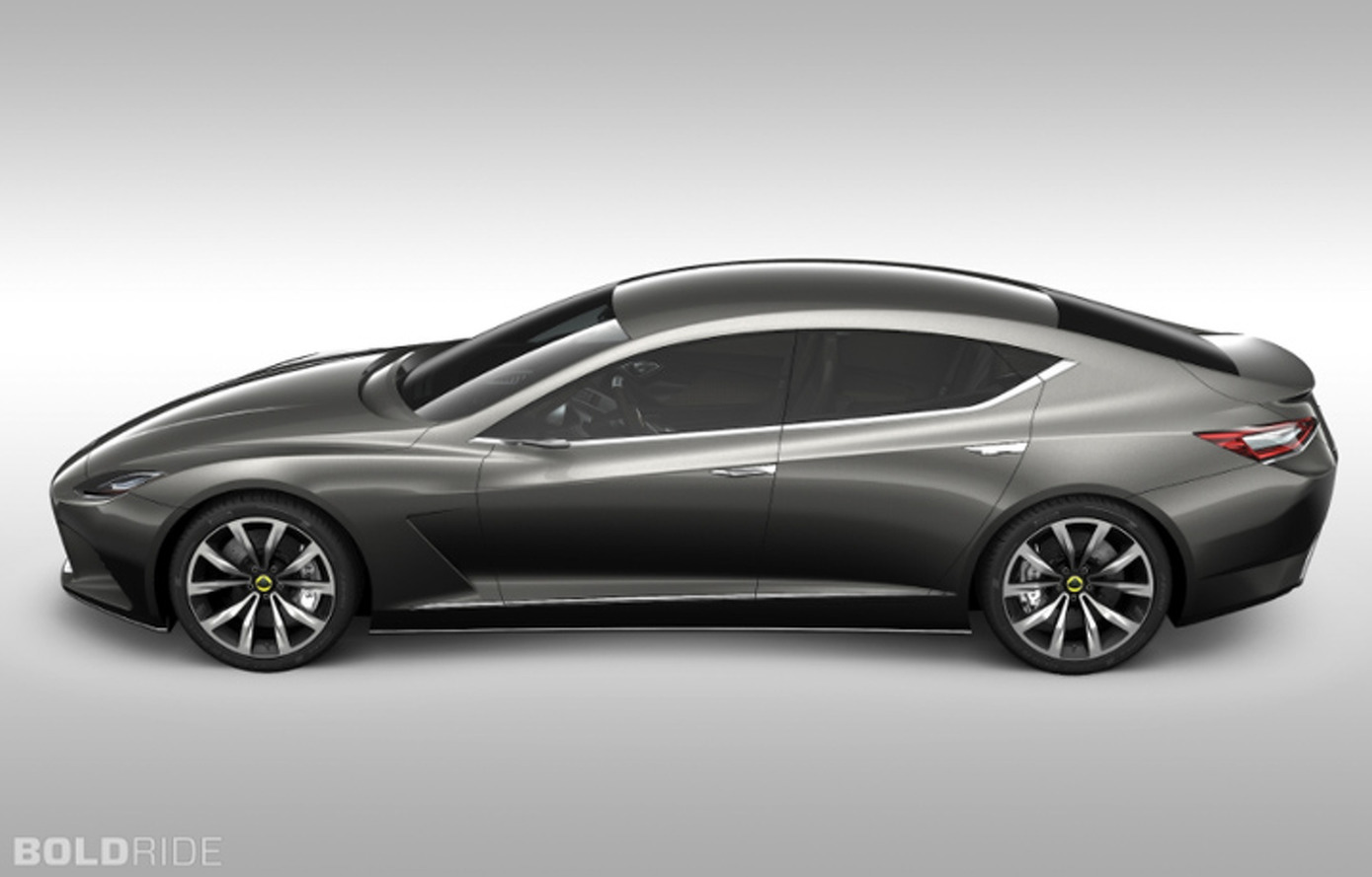 Lotus Considers Four Door Sedan and Crossover