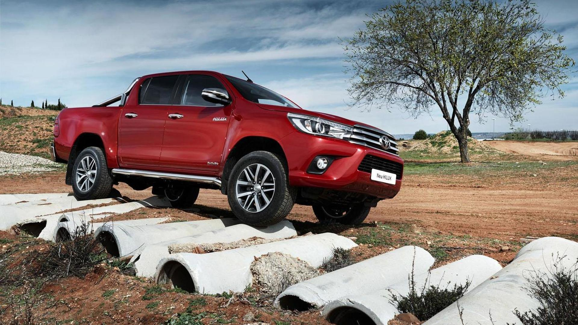 Euro-spec Toyota Hilux gets detailed