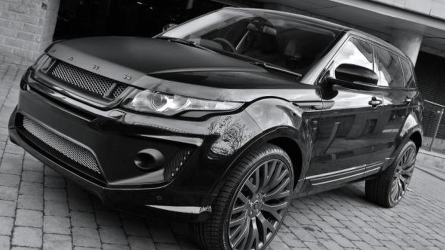 Kahn Design does its thing on the Range Rover Evoque