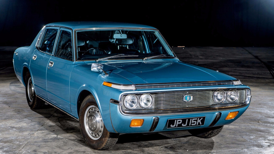 Rare 1972 Toyota Crown revived, reunited with family