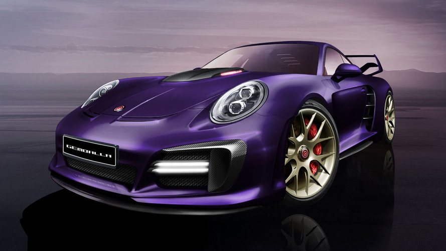 Gemballa previews Porsche-based Avalanche with over 800 horsepower