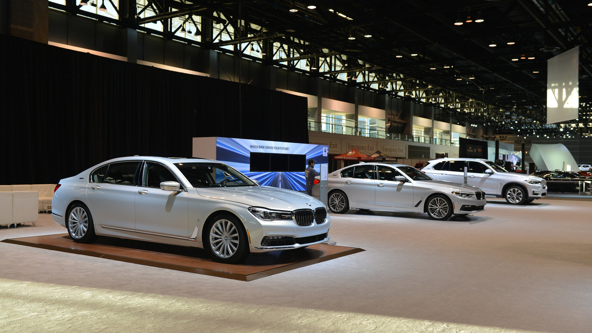 Bmw only brought plug in vehicles to the chicago auto show Motor vehicle chicago