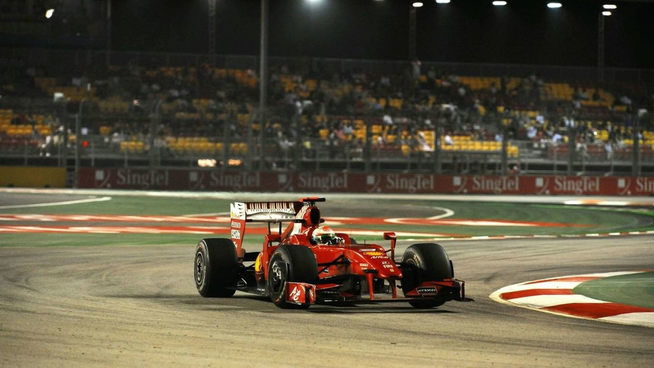 Giancarlo Fisichella (ITA), Singapore Grand Prix, 26.09.2009