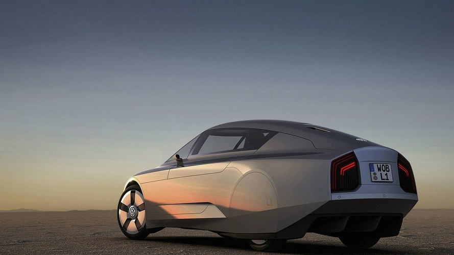 VW L1 Concept Officially Revealed in Detail