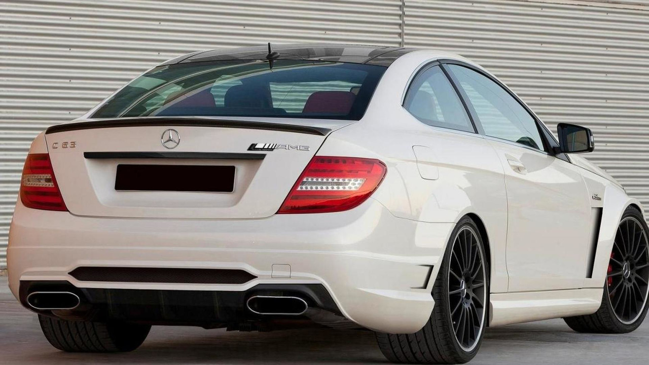 Mercedes-Benz C63 AMG Coupe Black Series, rear.I have changed a lot of stuff: